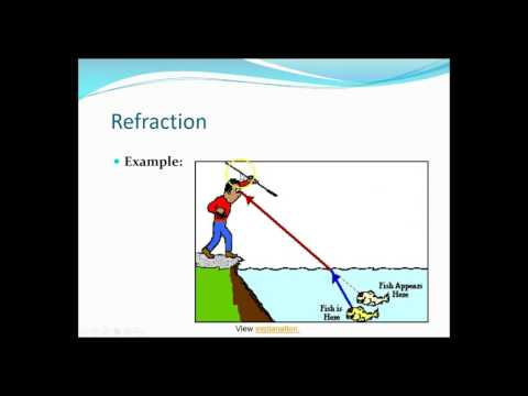 Reflection, Refraction, Diffraction And Interference