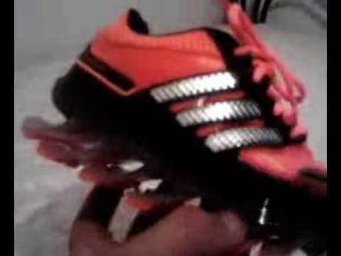 b0e59113580 Tenis Adidas Springblade infantil - 1º linha - YouTube