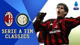 Kaka and Shevchenko v Adriano and Vieri Milan v Inter 2004 Serie A TIM Classics Serie A TIM