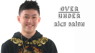 Rich Brian Rates Fanny Packs, Ramen Burgers, and Illegal Farting | Over/Under