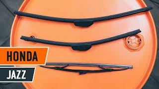 Fjerne Viskerblader HONDA - videoguide