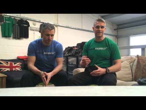 Functional Movement Screening at Sarum CrossFit with Box owner James Nicholls & Physio Dale Walker
