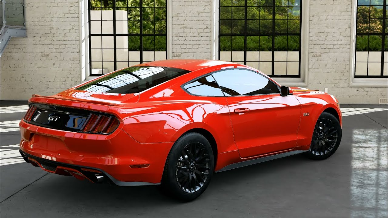 forza motorsport 5 2015 ford mustang gt youtube. Black Bedroom Furniture Sets. Home Design Ideas