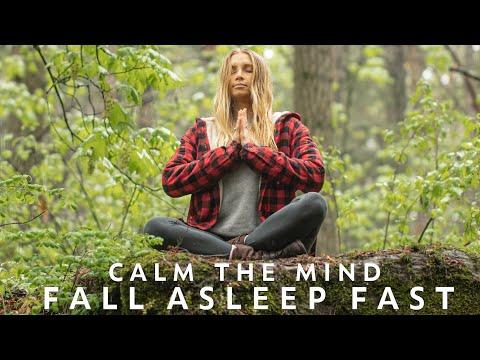10 Min Guided Meditation For Sleep & Relaxation   Fall Asleep Fast With Soothing Rain Sounds