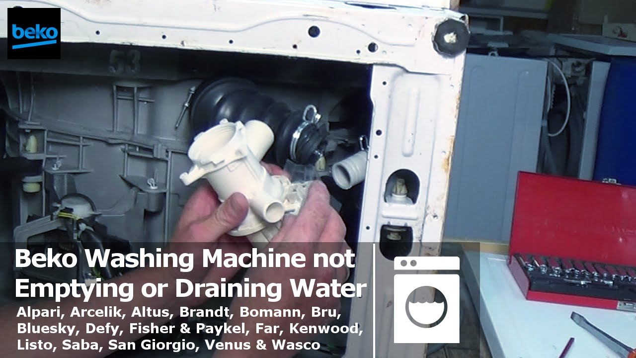Float Switch Wiring Diagram How To Replace Beko Washing Machine Pump Or Unblock It