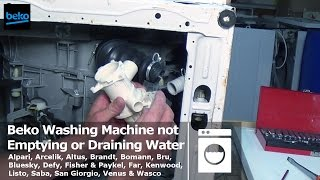 How to Replace Beko Washing Machine Pump or Unblock it