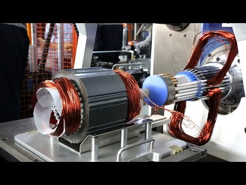 3 Phase Motor Stator Manufacturing Production Line For Air Conditioner Compressor
