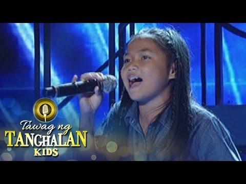 Tawag ng Tanghalan Kids: Lorraine Geronimo | Halik