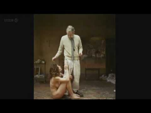 Lucian Freud Painting Footage