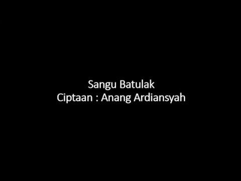 Lagu Banjar Sangu Batulak Lirik
