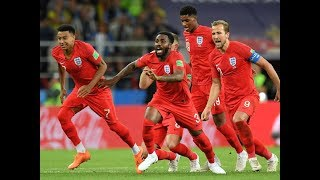 ENGLAND DEFEAT COLOMBIA ON PENALTIES - WORLD CUP 2018