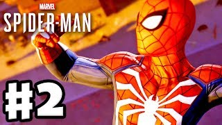 Spider-Man - PS4 Gameplay Walkthrough Part 2 - New Advanced Suit!