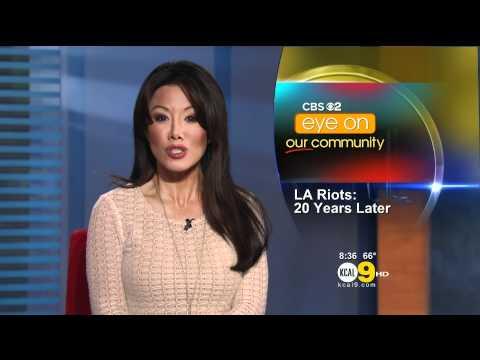 Sharon Tay 2012/04/17 KCAL9 HD; White dress