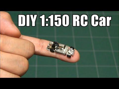【DIY】How to make 1:150 micro RC Car