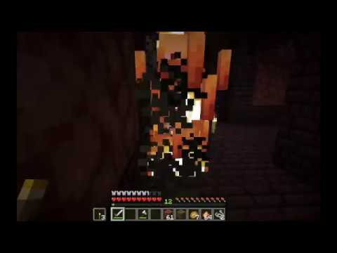 I find a nether fortress for the first time (and then get killed by a  blaze)! | Pebble's World Ep  3