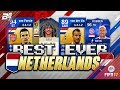 BEST EVER NETHERLANDS TEAM ON FIFA! w/ TOTY ROBBEN AND ICON GULLIT! FIFA ULTIMATE TEAM
