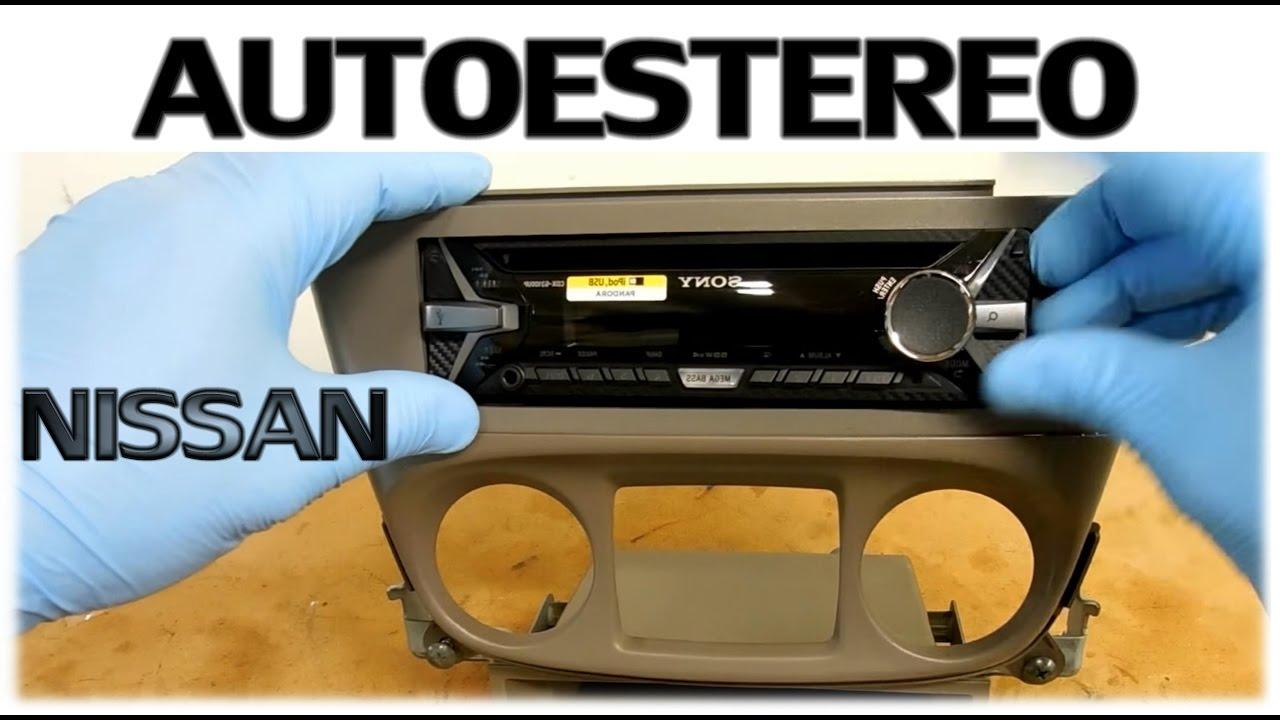 Bose Stereo >> Instalacion completa de stereo Nissan Sentra 2001 - 2006 (QUITANDO EL DE FABRICA) - YouTube