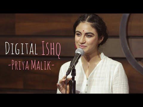 Digital Ishq- Priya Malik | Joshua Thomas | Spill Poetry
