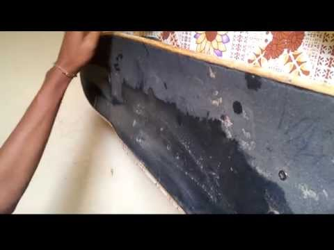 How to clean your griptape the easiest and cheapest way.