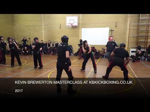 Kevin Brewerton Masterclass at KB Kickboxing 2017