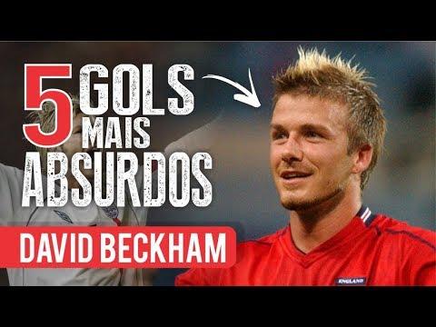 Os 5 GOLS mais ABSURDOS de DAVID BECKHAM