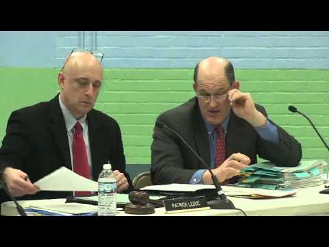 South Burlington School Board Meeting: March 2, 2016
