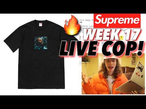 DROPPING A CHECK! Supreme F/W '18 Week 17 Live Cop!