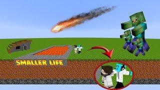 Minecraft Harita - SMALLER LİFE  ( Kısa Yaşamak)