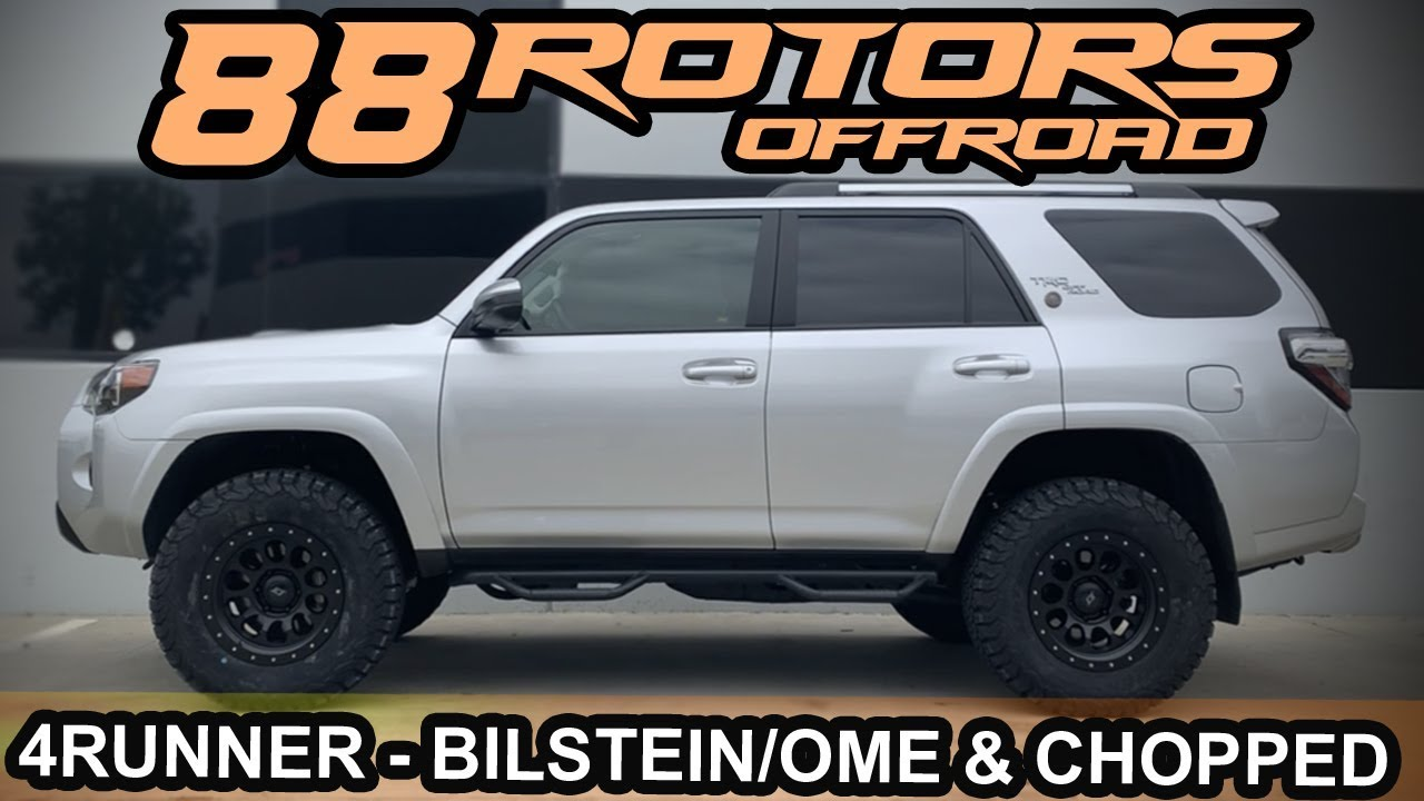 2016 4runner Lifted >> 2018 Toyota 4Runner TRD Offroad LIFTED & CHOPPED for 33's ...