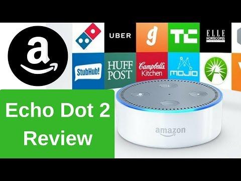 Amazon Alexa Echo Dot 2 [Performance & Drop Test] Modern Technology Review 1b