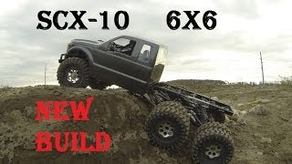 Rc Cwr Honcho Scx-10 6x6 New Project