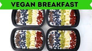 Easy Vegan Breakfast Recipes - Meal Prep