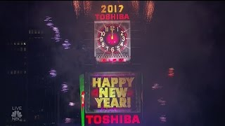"NBC 2017 ""New Year's Eve with Carson Daly"" Ball Drop New York HD 1080p"
