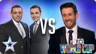 Richard & Adam vs Jamie Raven | Britain's Got Talent World Cup