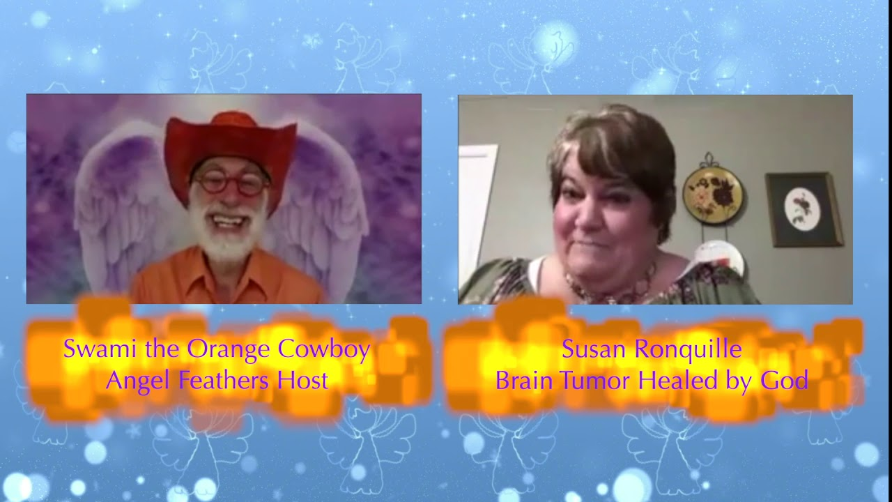 Angel Feathers TV Show #9 Guest Susan Ronquille
