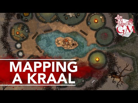 How To Create A Map Of A Village Kraal - Epic Campaigns