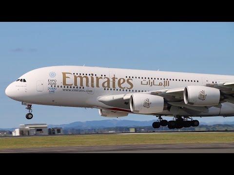 Emirates A380 - Worlds Longest Flight -  Dubai to Auckland 2016
