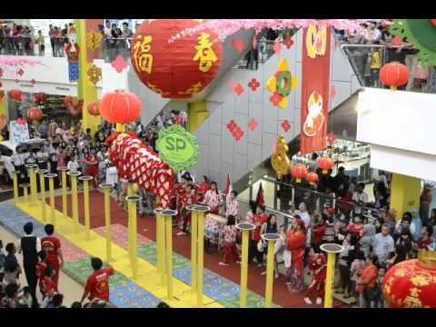 Atraksi Barongsai Di PTC Mall Palembang Part 2
