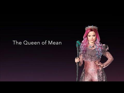 Queen of Mean - LYRICS | Sarah Jeffery Descendants 3