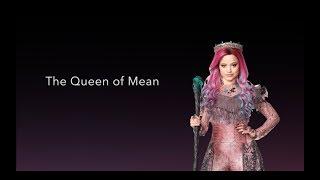 Queen of Mean - LYRICS   Sarah Jeffery Descendants 3