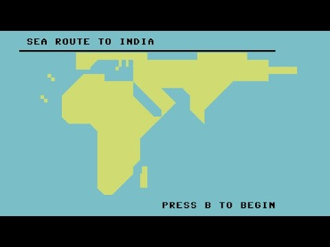 Sea Route To India - Commodore 64