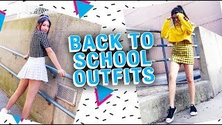 Back-to-School Outfits | College/University