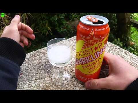 LET´S DRINK: ROCKSTAR SPARKLING PEACH (USA VERSION)