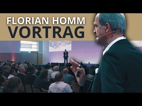 FLORIAN HOMM Vortrag auf der World of Trading