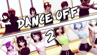 [Creepypasta MMD] CP Dance Off 2 (Boys vs Girls)