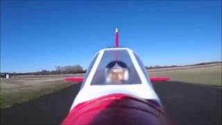 rochobby f2g super corsair high speed with on board camera at the lincoln sky knights