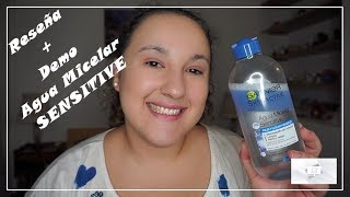 Reseña + Demo Agua Micelar Sensitive | Garnier | Noelia Talero