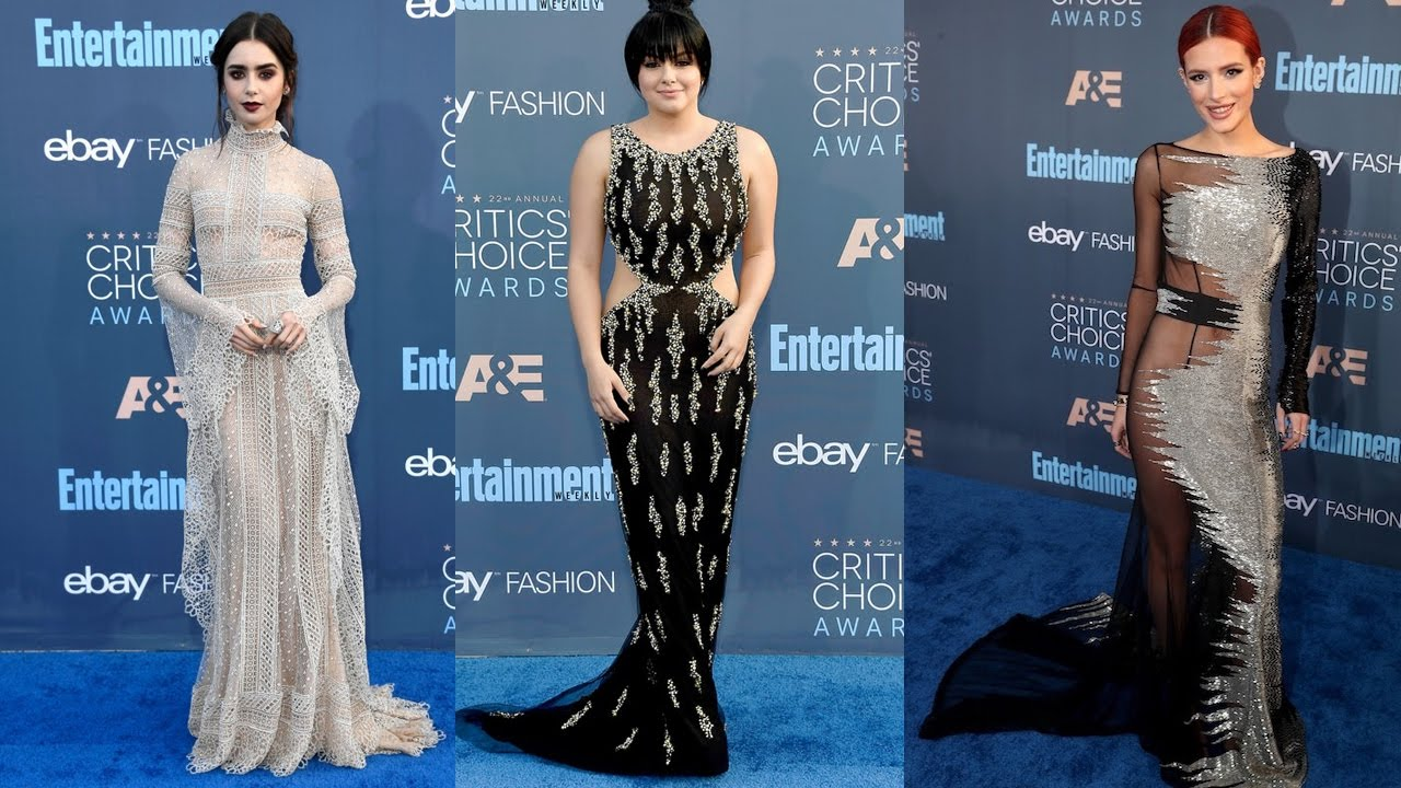 Top 10 Best-Dressed Stars at the Critics' Choice Awards