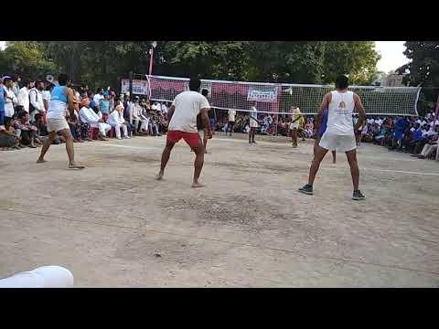 Tarsem vs jazz shooting volleyball final match in faridkot