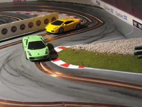 Custom Slot Car Racing – Lamborghini 1/43